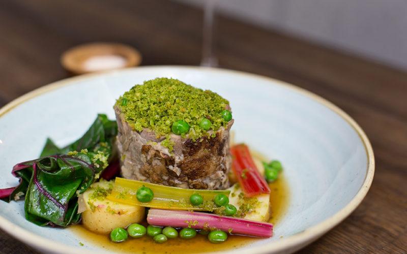 Bellevue Autumn Menu Paddington Pub Restuarant Slow cooked lamb shoulder roast main dining