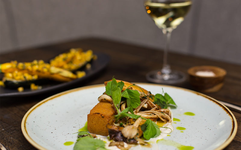 Bellevue Autumn Menu Restaurant Pub Dining Vegetarian Mushroom