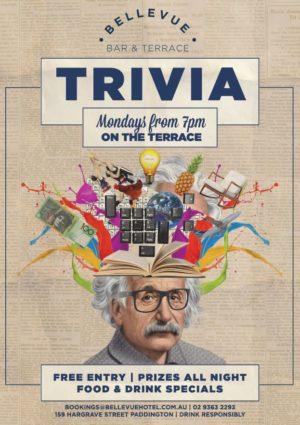 Monday Trivia Paddington Pub Woollahra Sydney Bars Triviality