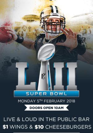 Super bowl Sydney pub watch live game bar nfl